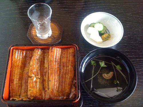 Kabayaki al estilo de Tokio
