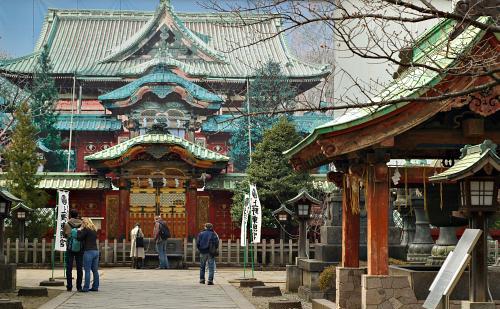 El Santuario Toshogu, dentro del Parque Ueno